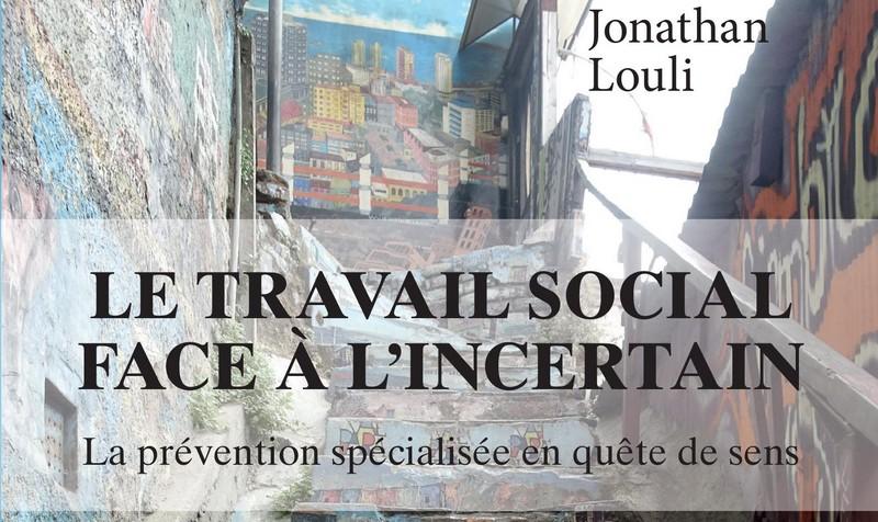 """Couverture du livre """"Le travail social face à l'incertain"""""""