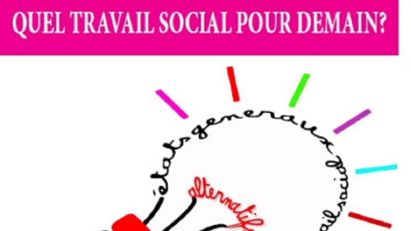 Couverture des Actes des Etats Généraux Alternatifs du Travail Social