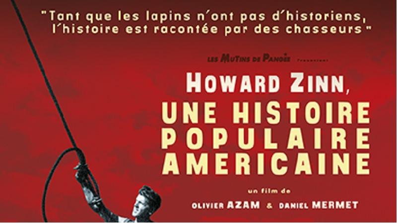 """Couverture du film """"Howard Zinn, une histoire populaire américaine"""""""