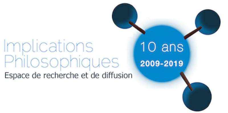 """Bannière du site """"Implications Philosophiques"""""""