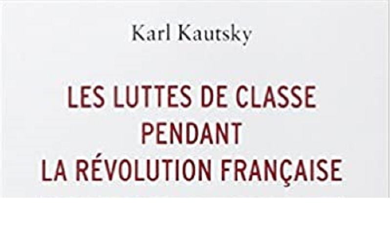 """Couverture du livre """"Les luttes de classes pendant la Révolution Française"""""""