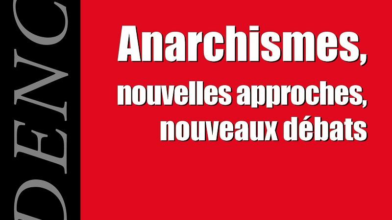 Couverture du n° de la revue Dissidence sur les anarchismes