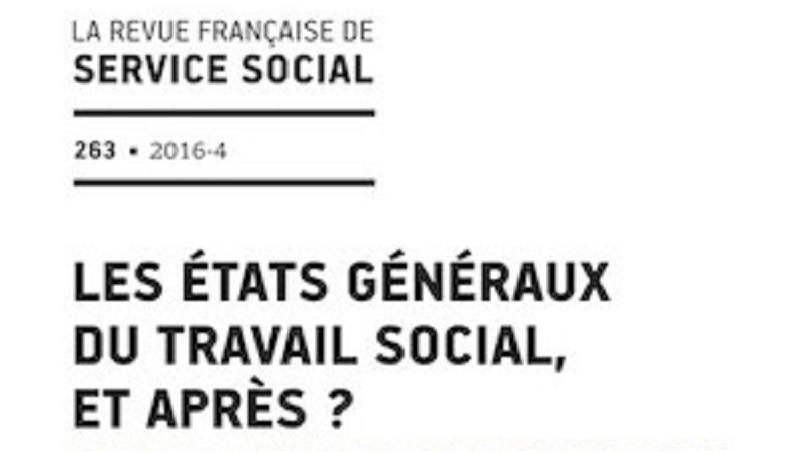 Couverture du n°263 de La Revue Française de Service Social
