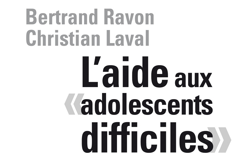 """Couverture du livre """"L'aide aux adolescents difficiles"""""""