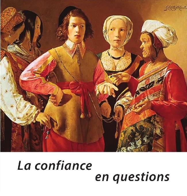 """Couverture du livre """"La confiance en question"""""""