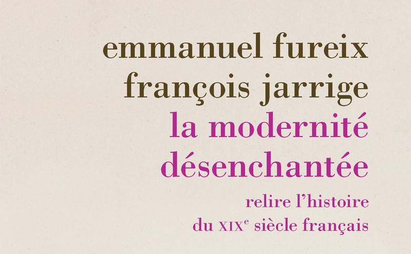"""Couverture du livre """"La modernité désenchantée"""""""