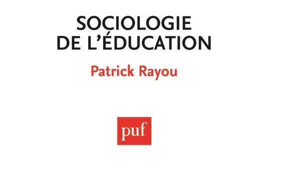 """Couverture du livre """"Sociologie de l'éducation"""""""