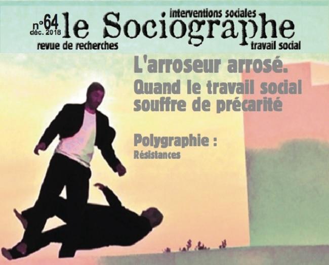 Couverture du n°64 de la revue Le Sociographe