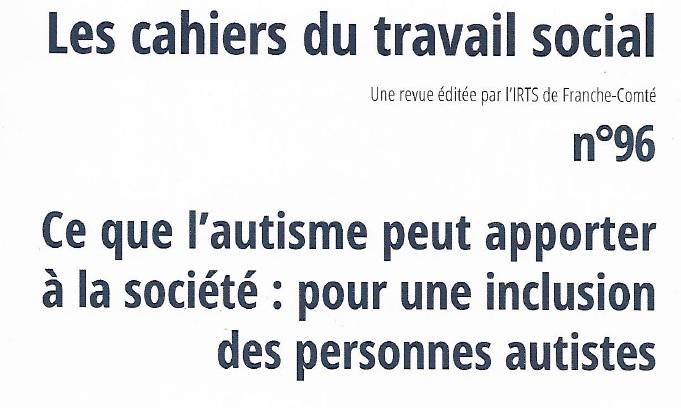 Couverture du n°96 des Cahiers du travail social