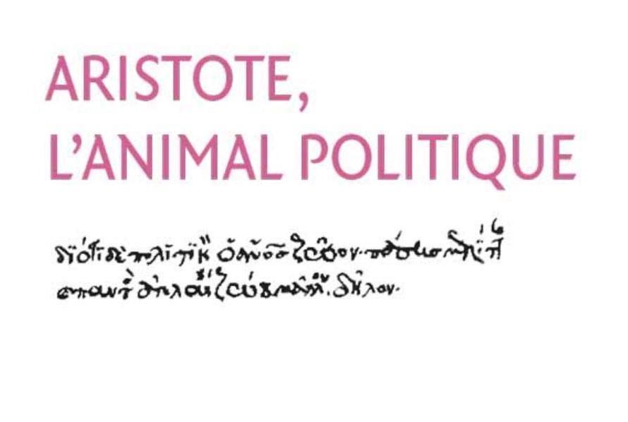 Couverture du livre Artistotle, l'animal politique