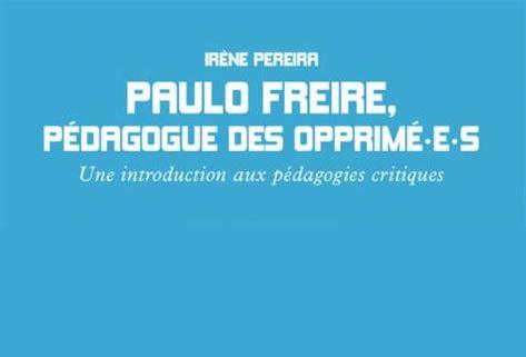 Extrait de couverture du livre de Pereira sur Paulo Freire